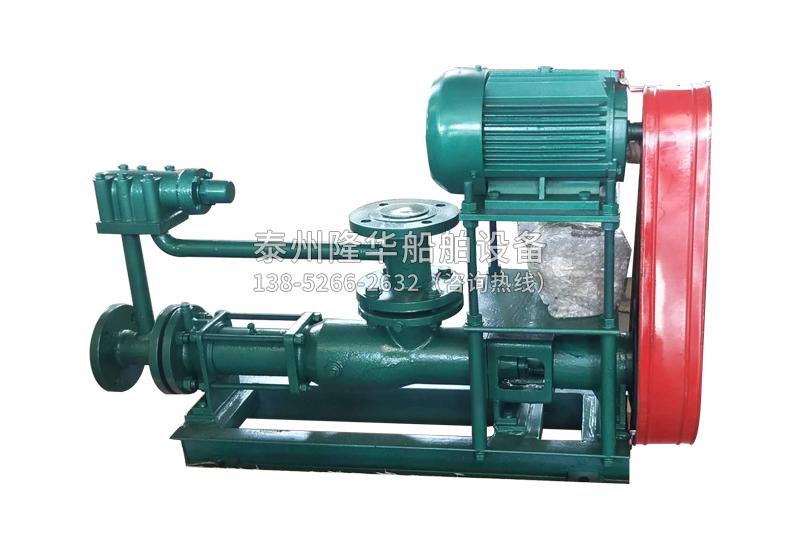 单螺杆泵的工作原理及特性
